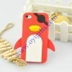 Quality Pirates One-eye Penguin silicone phone cover for sale