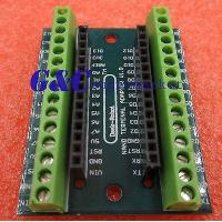 Buy cheap 2PCS Nano Terminal Adapter the Arduino Nano V3.0 AVR ATMEGA328P-AU Module Board product