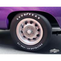 Buy cheap 1970 Plymouth Road Runner Rally Wheels and Tires Set of 4 Pack 1/18 by GMP product