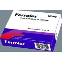 Buy cheap Ferrofer(Iron Sucrose Injection) from Wholesalers