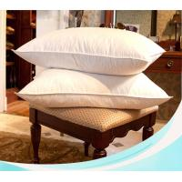 Best quality super firm white duck feather down pillow insert