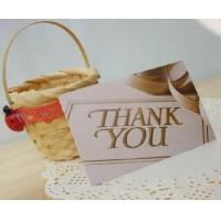 Buy cheap gift card,thank you card,greeting card product