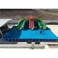 Buy cheap metal frame pool for amusement park product