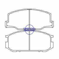 Suspension FK209 KIA Sorento (Latin America) Brake pad set FMSI:8379-D1261