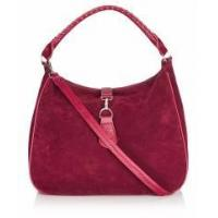 Buy cheap Suede leather hobo bag handbag with webbing strap product