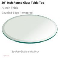 China 7 Best Of 60 Inch Round Tempered Glass Table top on sale