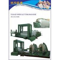 Buy cheap Auto Toilet Paper Roll / Tissue Paper Slitting Machine from wholesalers