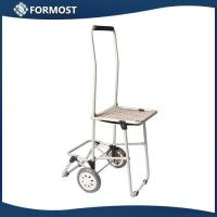 Buy cheap Foldable luggage cart with chair / Shopping Cart With Chair from wholesalers
