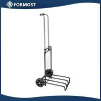 Buy cheap Iron HeavyDuty LightWeight luggage cart with Rolling Wheels from wholesalers