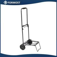 Buy cheap Portable Folding Hand trolley / LightWeight small Shopping luggage cart from wholesalers