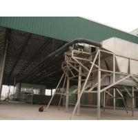 Grape stem pneumatic conveying system