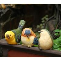 China craft and craft Resin Cute Small Bird Figurine Ornament on sale
