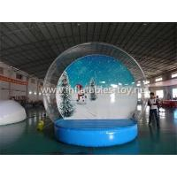 Buy cheap Inflatable Snow Globe Advertising Dome Tent product