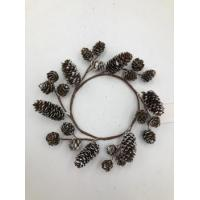 Buy cheap 150cm pinecone garland natural product