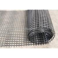 Buy cheap Polyester PET Geogrid Retaining product