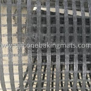 Quality Uniaxial PVC Coated Polyester Geogrid for sale