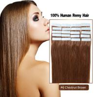 Buy Wholesale Tape In Hair In China With Good Price Color 6# Human Hair Made