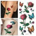 Buy cheap 3D Free Body Tattoo Sticker for Women product