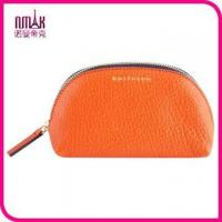 Buy cheap Large Leather Coin Purse Branded Cosmetics Bag Holder Secured with Zipped Closure product