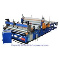 Buy cheap HX-2800B Rewinder Toilet Paper Embossing Equipment Rewinding Gluing Kitchen Towel Tissue Machine product