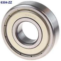 Buy cheap Solid Grease ZZ Seal Type Deep Groove Ball Bearing 6304ZZ 20x52x15mm product