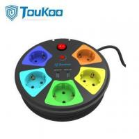 Buy cheap German power strip round with USB Socket from wholesalers