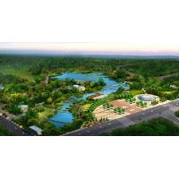 Buy cheap A Bird 's-eye View Rendering of the Park product