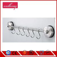 Self Adhesive Rack with 6 Hooks 304 Stainless Steel