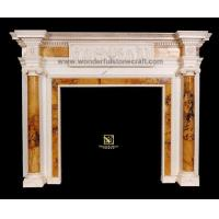 Buy cheap Marble fireplaces Inlaid Fireplaces 01 product