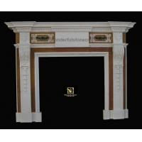 Buy cheap Marble fireplaces Inlaid Fireplaces 02 product