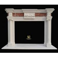 Buy cheap Marble fireplaces Inlaid Fireplaces 11 product
