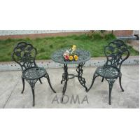 Buy cheap cast alu.chair and table cast aluminum table and chair from wholesalers