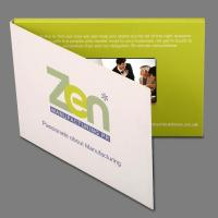 Buy cheap EF-V001 4.3 inch hardcover Fashion Design Video Advertising Cards product