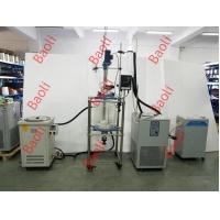 Buy cheap 50L,100L.150L ,200LDouble Glass Reactor with appropriate Vacuum Pump and Chiller from wholesalers
