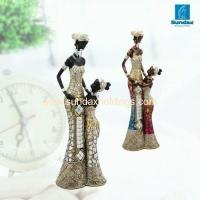 Buy cheap Decor Series SH1366- 12Polyresin African Figurines For Home Decor product