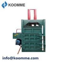 Buy cheap 22KW Labor Free Foam Cotton Vertical Recycle Baler product