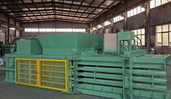Quality 5.5kw Baler Pressing Machine Used Cloth Packer for sale