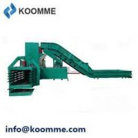 Buy cheap Used Cans and Bottles Baler Pressing Machine with Conveyor Belt Feeding product