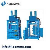Buy cheap 8T Bagasse Baling Press Machine Vertical Waste Baler product