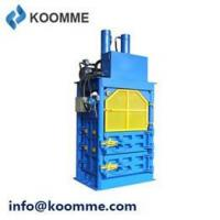 Buy cheap Waste Balers & Recycling Compactors Cardboard Bailing Compressing Machine product
