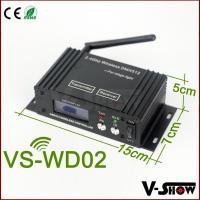 Buy cheap LCD wireless dmx 512 transmitter and receiver ,wifi connector product