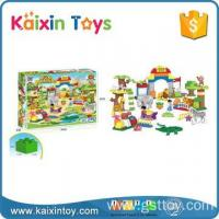 Buy cheap 10203268 Best selling good quality DIY zoo(105pcs) product