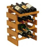 Buy cheap Drink Displays 12 Bottle Wine Rack with Display Top - Triple Row DSN12275 product