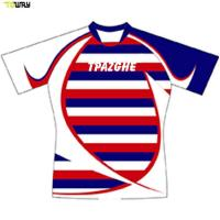 Buy cheap Hot sale custom sublimation high quality rugby jersey with OEM service product