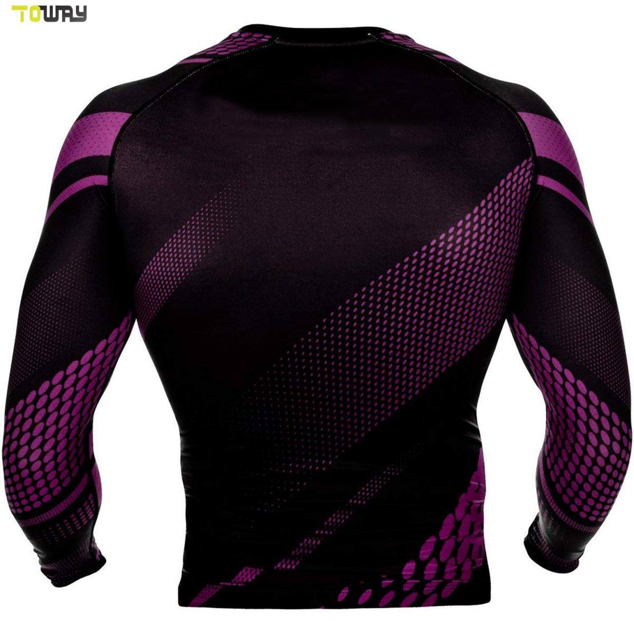 Buy cheap Custom design your own printed compression shirt rash guard product