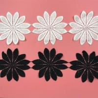 Buy cheap Golden Knit 10cm polyester lace water soluble lace embroidery lace sy311# from wholesalers