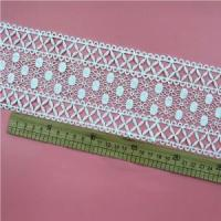 Buy cheap Golden Knit 8cm polyester lace water soluble lace embroidery lace sy183# from wholesalers