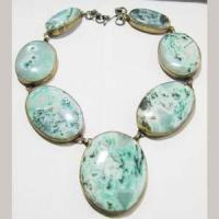 Buy cheap agate stone slice necklace ana00095 from wholesalers