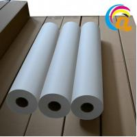 Buy cheap High Release Non-curl Heat Transfer Sublimation Paper Fast Dry 120gsm/130gsm/140gsm product