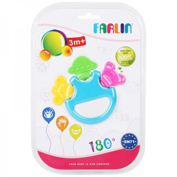 Quality Description: OEM Baby Toy Teether Rattle for sale